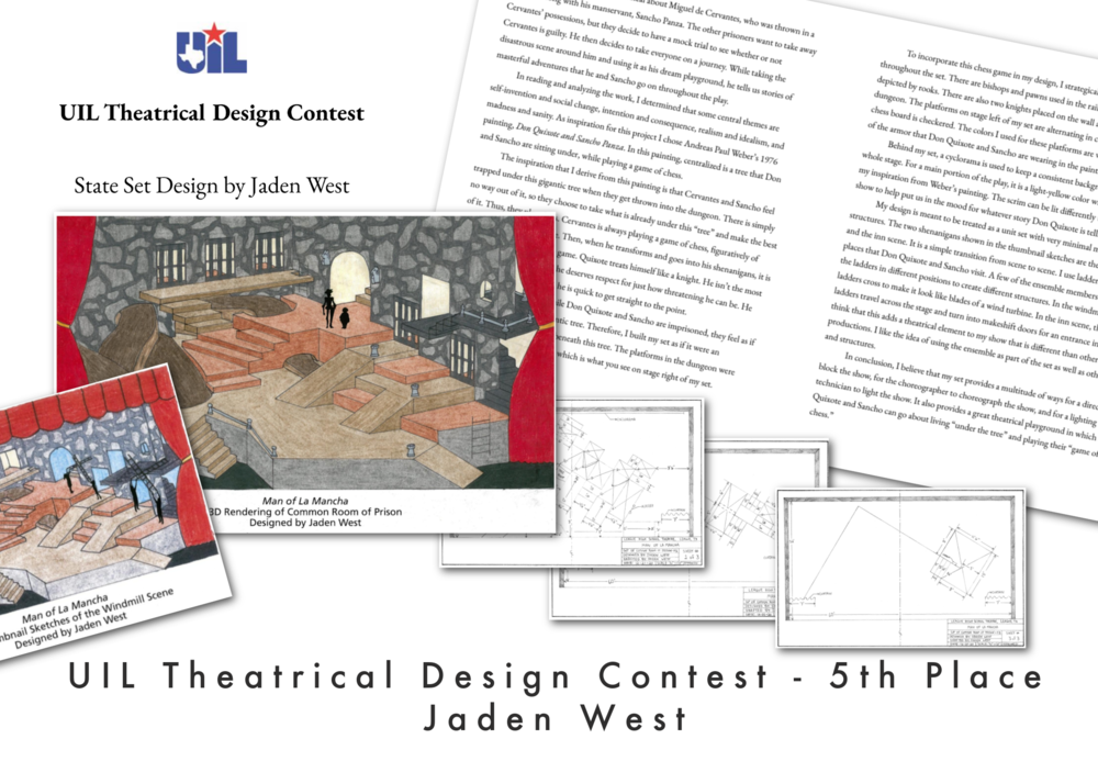 UIL Theatrical Design Winners Announced!
