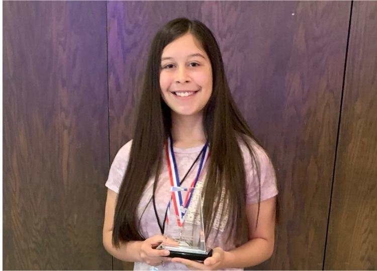 Snyder Junior High Student Placed 2nd at Regional Spelling Bee