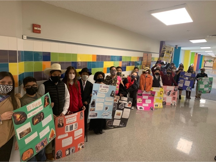 4th Grade Students Travel Back in Time!