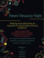 Snyder Primary Parent Resource Night