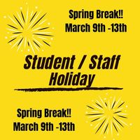 Spring Break includes bonus a bonus day!