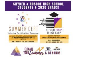 9-12 VIRTUAL SUMMER PROGRAMS