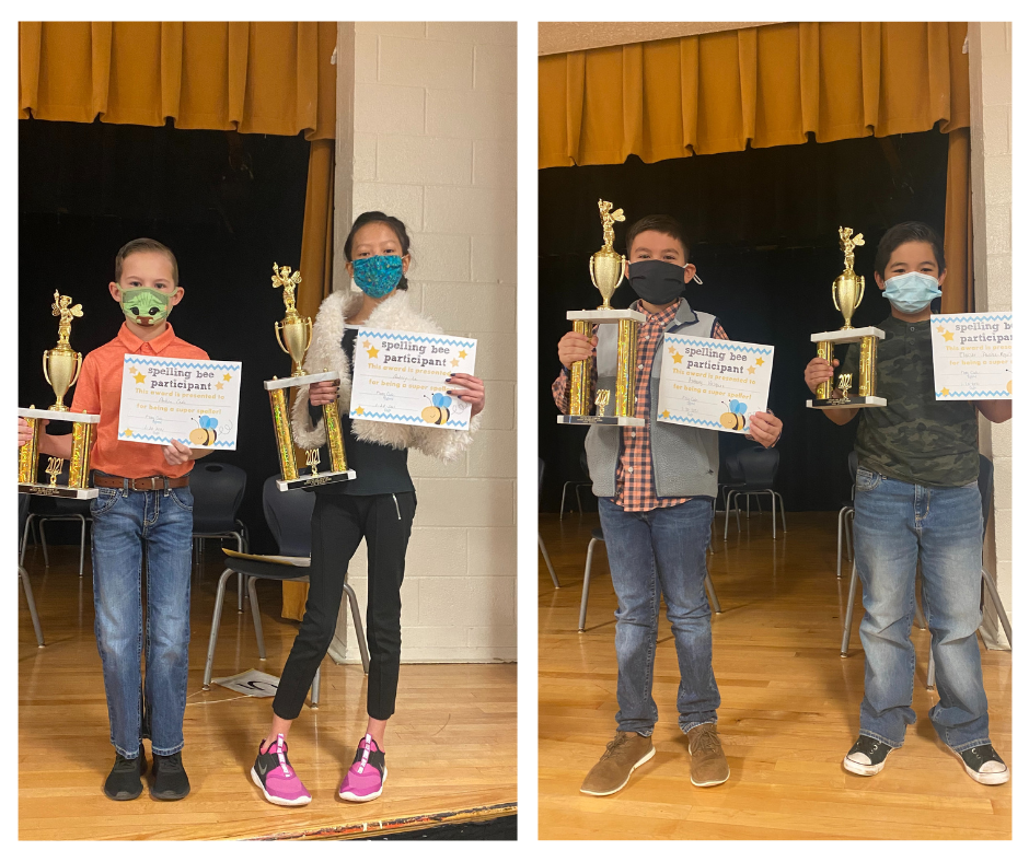 Spelling Bee winner photos