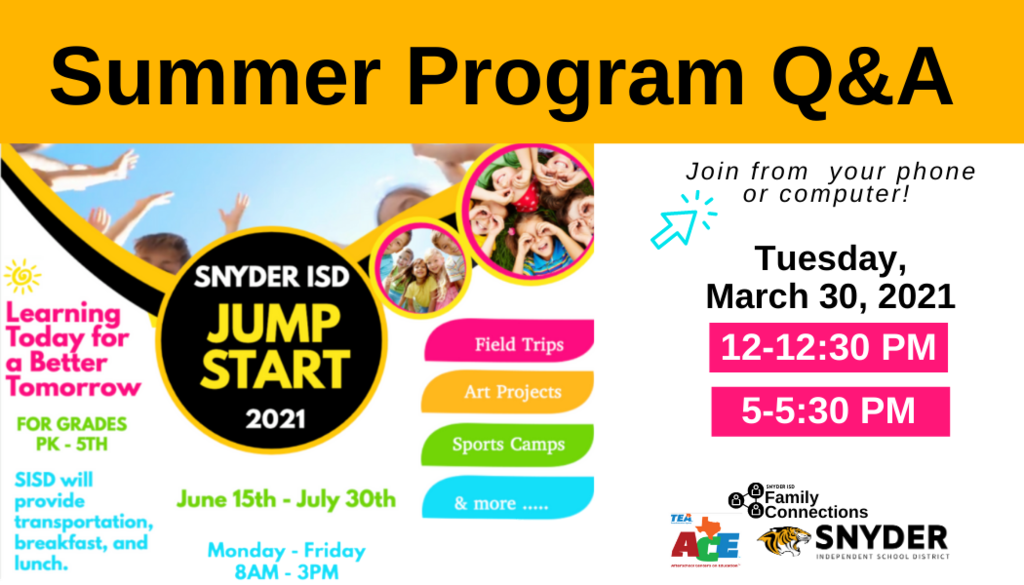 Summer programs promo image