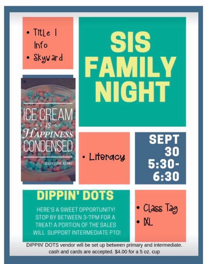 Family Night at SIS