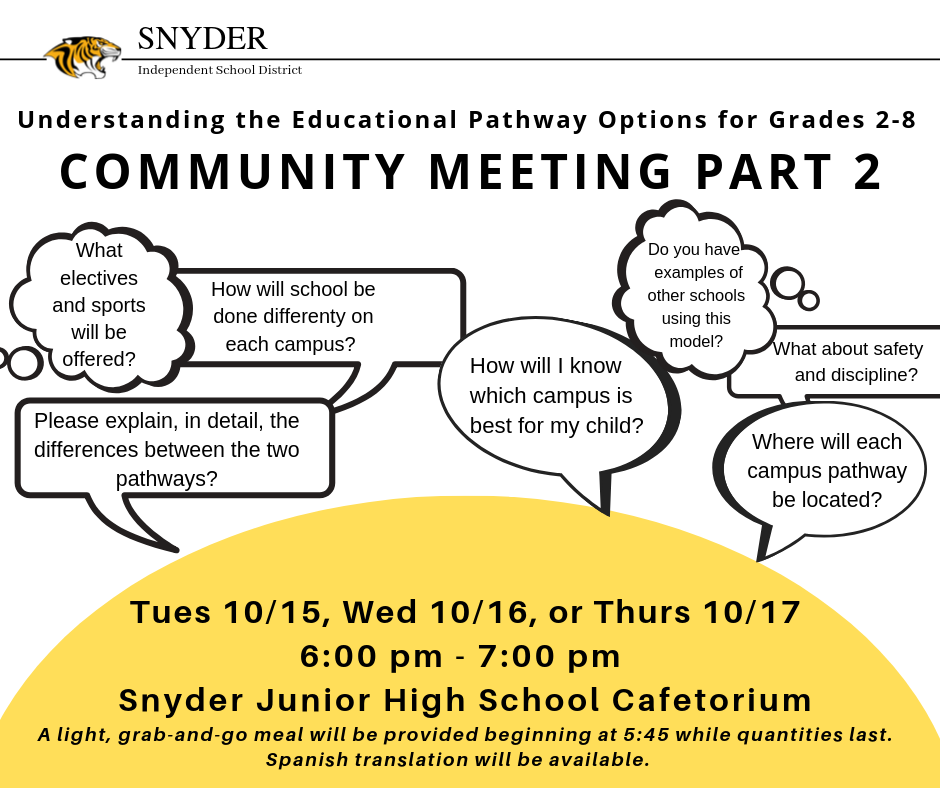 Community Meeting Part 2
