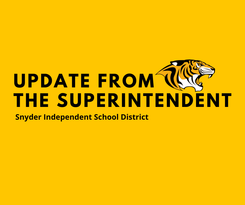 Superintendent Announcemet