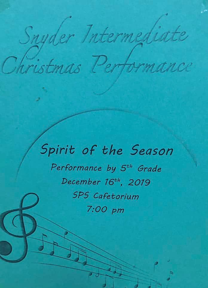 Christmas Performance