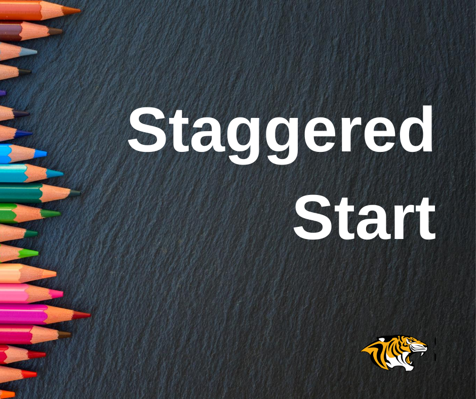 Staggered start