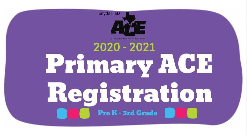 ACE Registration